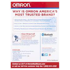 omron 10 plus series bluetooth smart blood pressure monitor