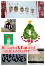 crafts with fingerprints and footprints