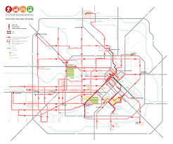 Traffic Map Houston Metro System Reimagining Houston Tx Asakura Robinson Company