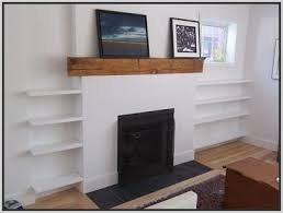 Fireplace Bookshelves by 13 Best Fireplace With Shelving Images On Pinterest Fireplace