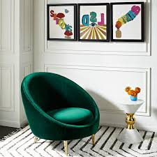 Turquoise Chair Ether Chair Modern Furniture Jonathan Adler