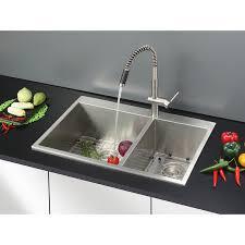 Unique Drop In Kitchen Sinks Double Bowl More Kitchen Sinks Drop - Single or double bowl kitchen sink