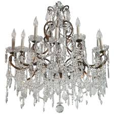 Marie Chandelier Vintage French Marie Therese Crystal Chandeliers At 1stdibs