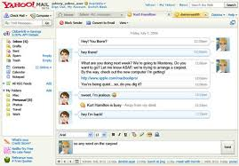 Email Yahoo Single Ajax Interface For Yahoo Mail Im Coming Techcrunch