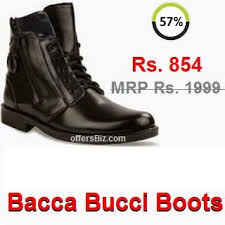 buy boots flipkart bacca bucci boots offer flipkart shopping offersbiz