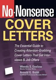 no nonsense cover letters the essential guide to creating