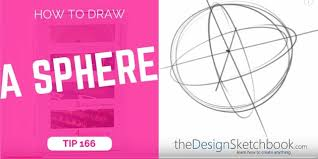 how to draw a sphere and spot the xyz axis