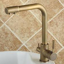 antique brass kitchen faucets moen antique brass kitchen faucet bridge with sprayer subscribed