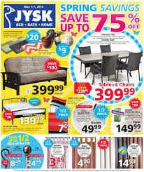 Jysk Home Decor Jysk Flyer May 1 To 7 Canada