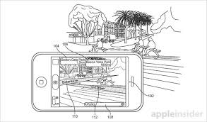 apple patents augmented reality mapping system for iphone