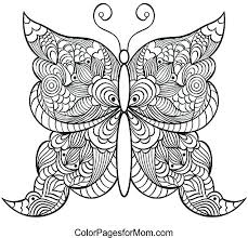 coloring pictures of small butterflies printable butterfly coloring page classy printable butterfly ng