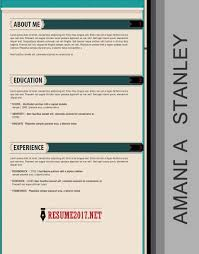 Creative Resume Templates 20 Resume Templates 2017 To Win U2022