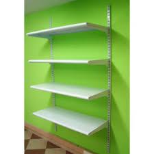 estantes y baldas estanter纃a met縺lica cremallera pared 4 estantes estanterias lobo