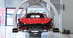 ferrari factory sky view inside ferrari how craftsman and robots build the world u0027s most