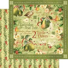 graphic 45 twelve days of christmas collection 12 x 12 double