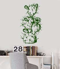 Wall Decals For Living Room Online Get Cheap Cactus Wall Decal Aliexpress Com Alibaba Group