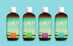 body wash u0027s cool package design