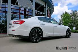 custom maserati ghibli maserati ghibli with 20in lexani css15 wheels exclusively from