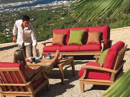 Outdoor Furniture Minneapolis by Patio 65 Cushions For Patio Furniture With Red Cushion Color