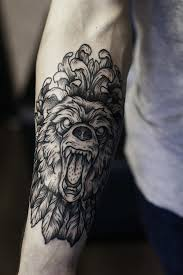 impressive california bear tattoos creativefan