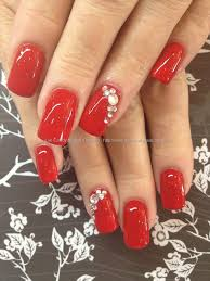 best 25 red wedding nails ideas on pinterest circle diamond