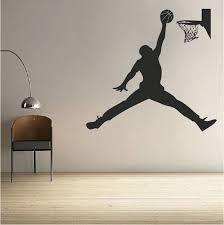 Basketball Jordan Wall Decal Wall Decals Walls And Room - Design wall decal