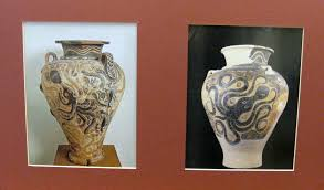 Minoan Octopus Vase Packet 6 Minoan Art U2013 Evergreen Art Discovery