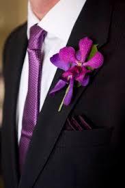 Orchid Boutonniere Weddingchannel Galleries Purple Orchid Boutonniere Häät