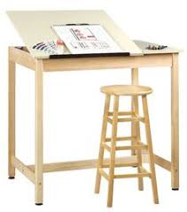love this art desk you can see all the art supplies in the drawer