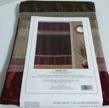 creative bath fabric shower curtain modern brown burgundy creative bath fabric shower curtain modern brown burgundy beige 72