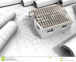 3d Plan 3d Plan Drawing Stock Images Image 27074794