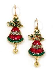 images of christmas earrings christmas bell earrings christmas earrings