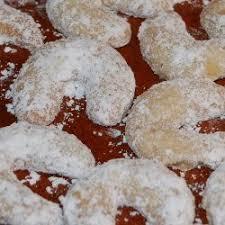 german almond crescent cookies cookies cookies cookies