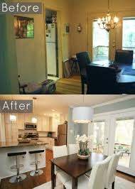 kitchen dining room design opening walls between rooms transforms living spaces dreaming of