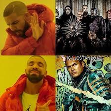 Slipknot Memes - drake suicide squad slipknot meme quirkybyte
