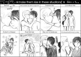 Kiss Meme - make them kiss meme by silverlykta on deviantart