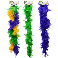 mardi gras boas bulk mardi gras feather boas 48 in at dollartree