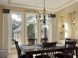 cornice window treatments dining room contemporary dining room