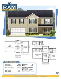 home builder plans four bedroom house plans by rosewood home