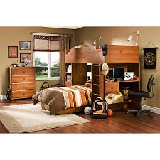 South Shore Bunk Bed South Shore Logik Loft Bed Pine Walmart