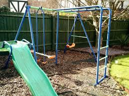 swing sets with monkey bars russet ridge wood swing set with