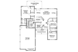 3 bedroom ranch house floor plans ranch house plans bakersfield 10 582 associated designs