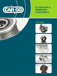 alternator generator components 2013 2014 with cover page