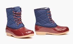 womens duck boots sale sociology s duck boots groupon exclusive size 6 groupon