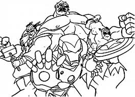 avenger coloring pages kids coloring