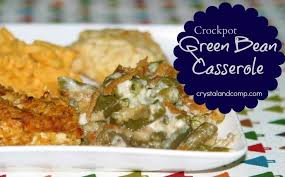 easy recipes crockpot green bean casserole recipe crockpot