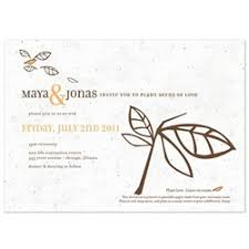 plantable wedding invitations invitations made from seed paper