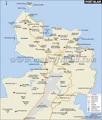 map port blair city map
