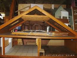 a frame house interior