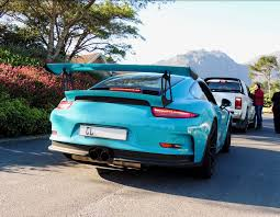 miami blue porsche gt3 rs exoticspotsa week 44 2017